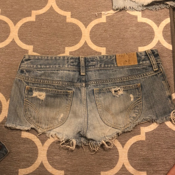 Hollister Pants - Hollister Jean Shorts 3 26